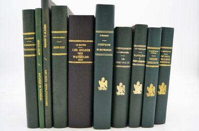 Ensemble de 10 livres  DE LA BRETONNE Retif...