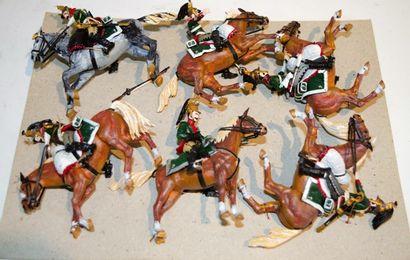 Historex: Six dragons du 7ème régiment de...