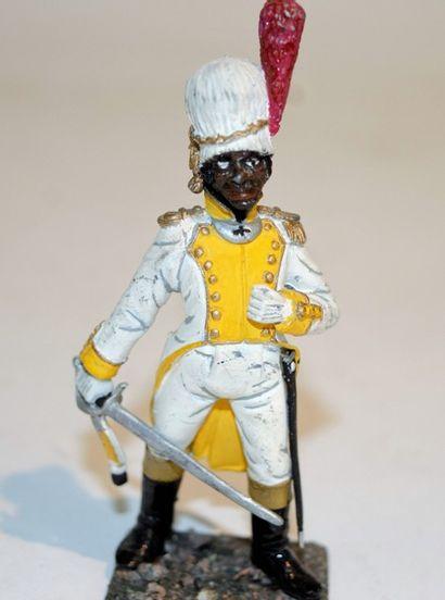 Figurine d'art: Hinschlif, série 77: un officier...