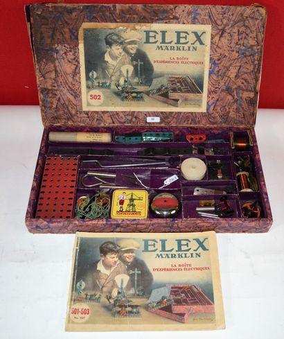 MÄRKLIN: ELEX réf 502, la boîte d'expériences...