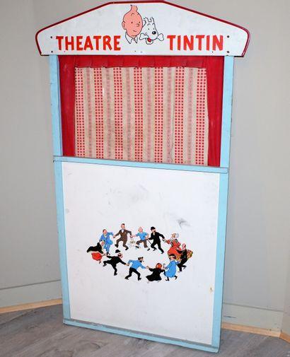 Théatre de marionnettes Tintin, années 60....