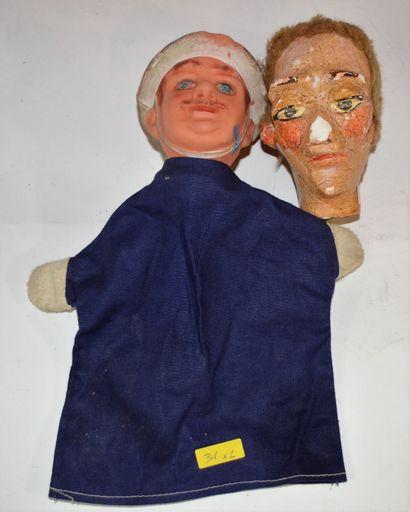 Marionnette de policier pour théatre enfants,...