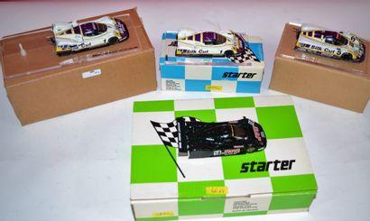 STARTER: Jaguars (4) : XJR 10 Slik Cut essais...