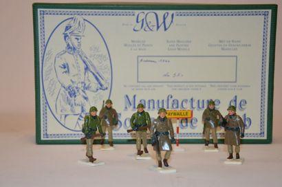 G&W Manufacture de soldats de plomb, Ardennes...