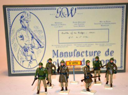 G&W Manufacture de soldats de plomb, Battle...