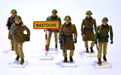 G&W Manufacture de soldats de plomb, La patrouille,...