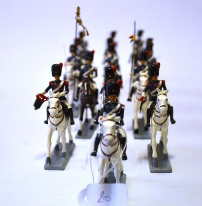 G&W Manufacture de soldats de plomb, ensemble...