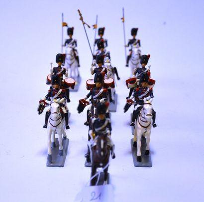 G&W Manufacture de soldats de plomb,ensemble...