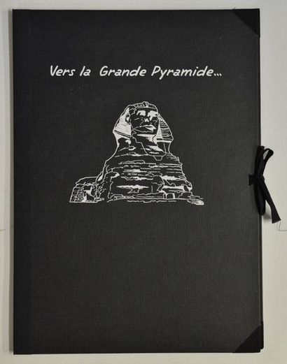 Blake & Mortimer - Porto-folio 12 planches...