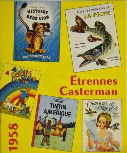 Hergé - Catalogue casterman 1958 - Etat ...