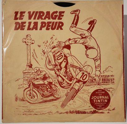 Jean Graton: albums en cire 78 tours mono...