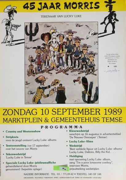 Morris De Bevere: affiche