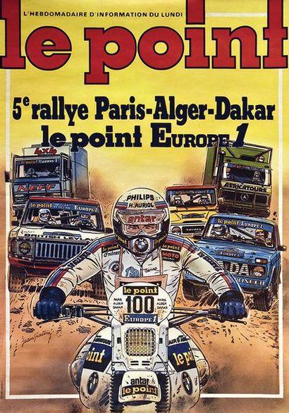 Jean Graton: Rare affiche originale
