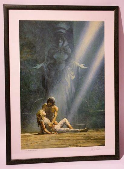 Thorgal: Affiche illustrant la couverture...