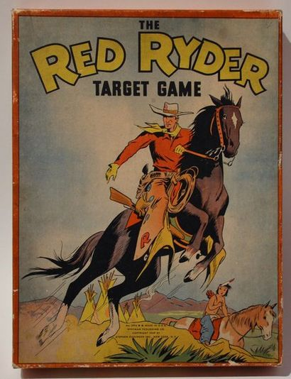 The Red Ryder/Harman: target game. Rare jeux...