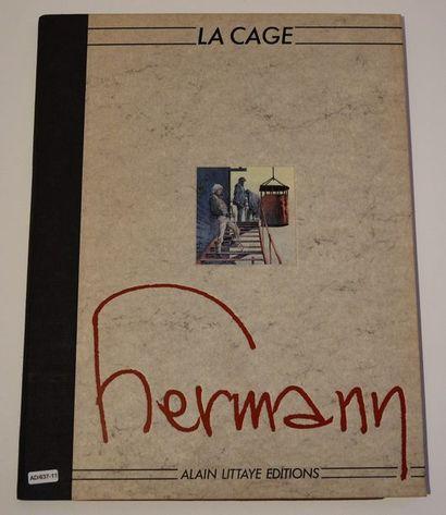 Hermann/La cage: portofolio composé de 15...
