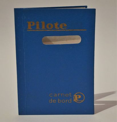 Pilote: très rare carnet de bord du magazine...