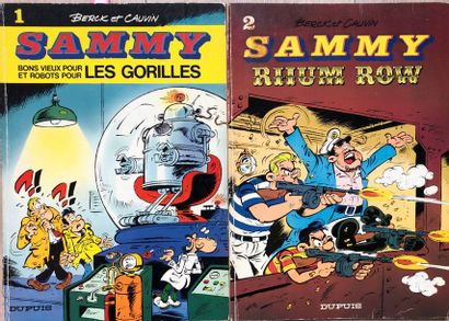 Sammy/Berck & Cauvin. Ensemble composé des...