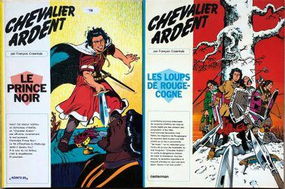 Chevalier Ardent/Craenhals. Ensemble de 24...
