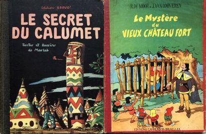 Paire d'albums:  Jacques Martin/Le secret...
