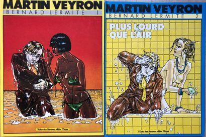 Martin Veyron/Albin Michel. Albums éditions...