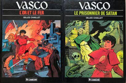Gilles CHaillet/Vasco. Ensemble de 23 albums:...