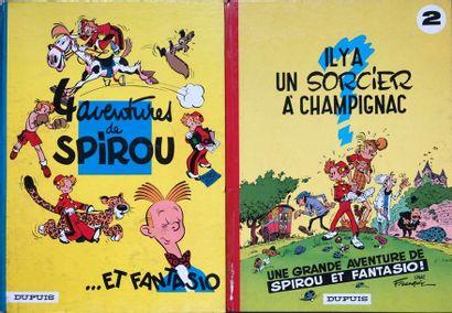 Franquin/Spirou & Fantasio. Les 20 premiers...