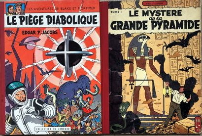 EP Jacobs/Blake & Mortimer. Paire d'albums:...