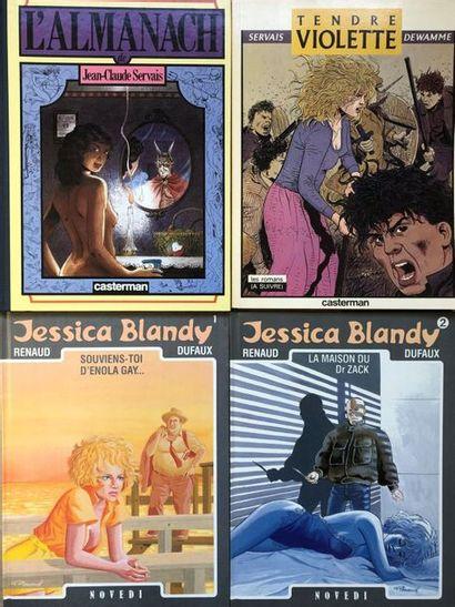 Renaud/Jessica Blandy. Ensemble des 14 premiers...