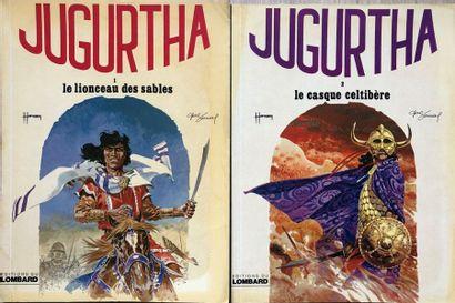 Hermann/Jugurtha. Ensemble des 16 premier...