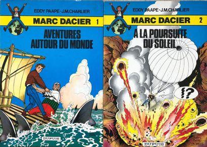 Paape/Marc Dacier. Ensemble de 13 albums:...
