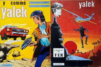 Denayer/Géron/Yalek. Ensemble de 19 albums...