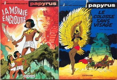 Papyrus/De Gieter. Lot de 19 albums du Tome...