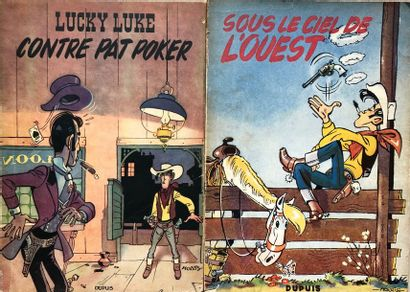Morris/Lucky Luke. Paire d'albums Tomes 4...