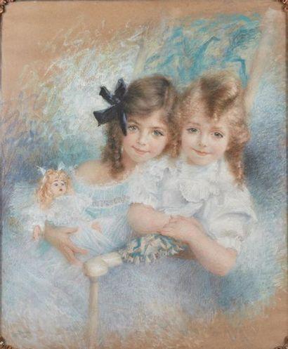 Lucien LÉVY-DHURMER (1865-1953). Fanny et...