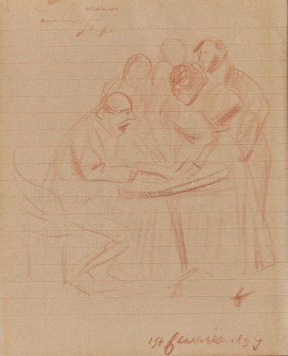 Jean-Louis FORAIN (1852-1931). Autour du...