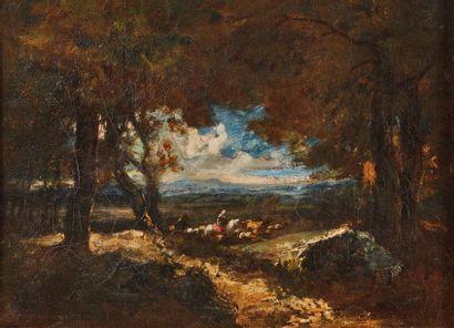 Alexandre-Marie LONGUET (1805-1851). La fillette...