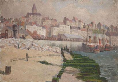 H. LOUVET. Vue générale, Boulogne-sur-Mer....