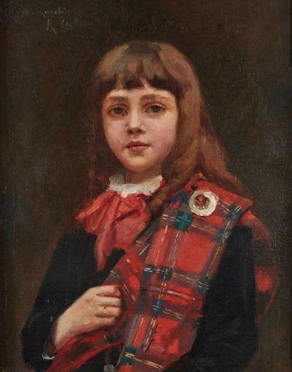 Rafael DE OCHOA Y MADRAZO (1858-1935). Portrait...