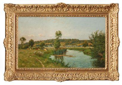 Antoine-Eugène LAMBERT (1824-1903). Bord...