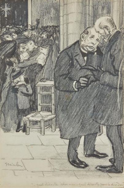 Théophile-Alexandre STEINLEN (1859-1923)....