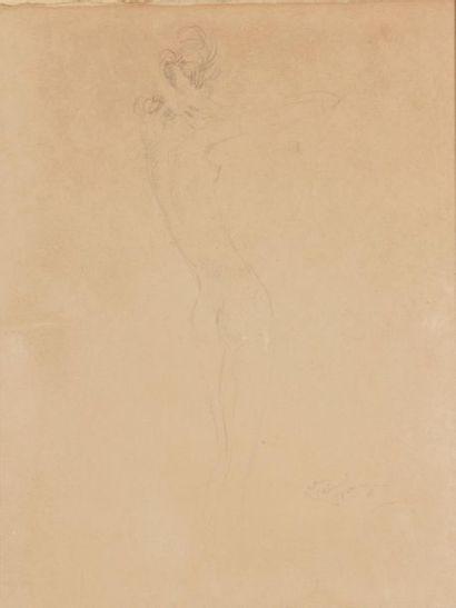 Jean-Gabriel DOMERGUE (1889-1962). Modèle...