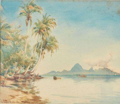 William Alister MACDONALD (1861-1948). Tahiti,...