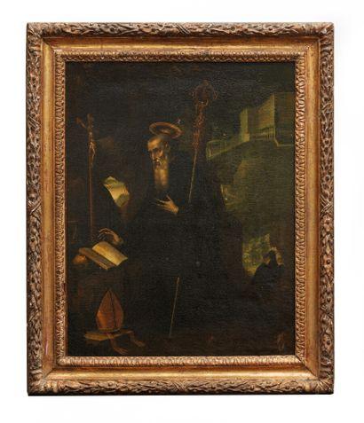 Attribué à Jacopo LIGOZZI (1547-1627).  Saint...