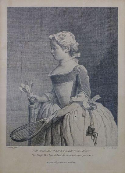 Jean Siméon CHARDIN (1699-1779) (d'après)....