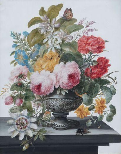 Attribuée à Barbara-Regina DIETZCH (1706-1783)....