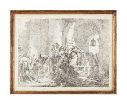Giovanni Domenico TIEPOLO (1727-1804).  La...