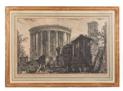 Giambattista PIRANESI (1720-1778).  Veduta...