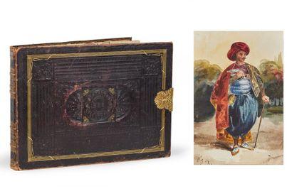 Album AMICORUM composé par la comtesse d'Hautefort...