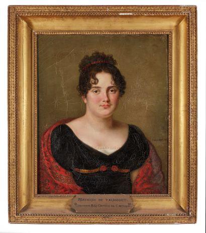 Cornelis GROENEDAEL (1785-1834).  Portrait...